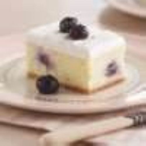 Creamy Lemon-Blueberry