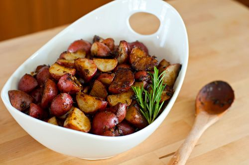 Balsamic Roasted Potatoes (Ed Asner)