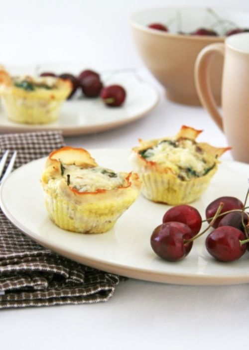 Italian-Style Baked Egg Cups