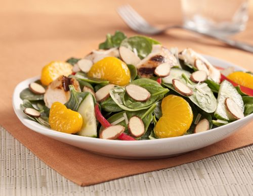 Grilled Chicken Mandarin Salad