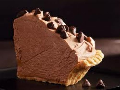Pie - Frozen Chocolate Mousse Pie