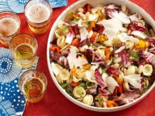 Pasta - Tuscan Pasta Salad with Grilled Vegetables