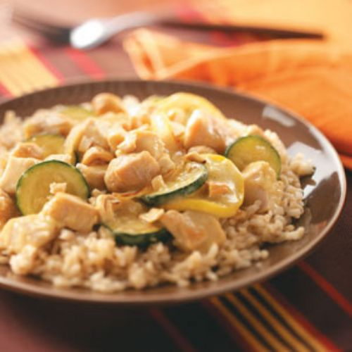 Turkey with Curried Cream Sauce