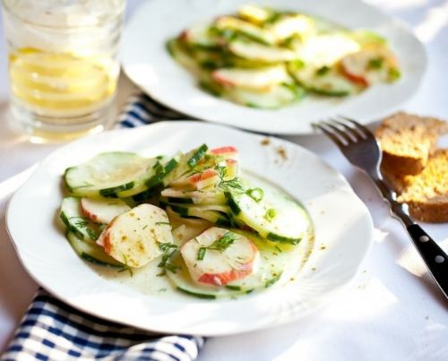 Apple and Cucumber Salad