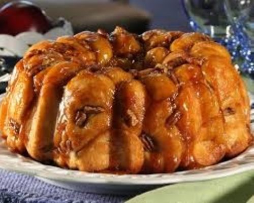Frozen overnight monkey bread