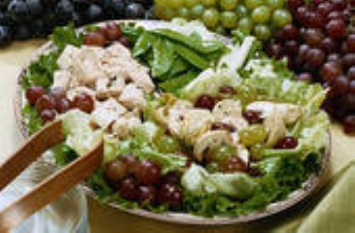 Cranberry-Orange Chicken Salad