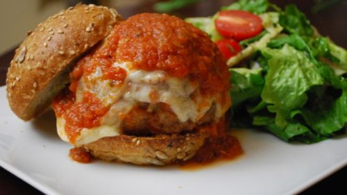 Sandwiches - Meatball Hero Burgers