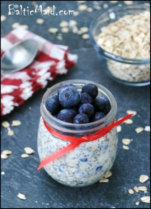 Blueberry Maple Oatmeal