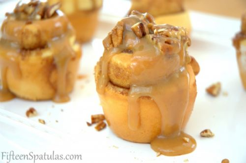 Butterscotch Glazed Pecan Sticky Buns