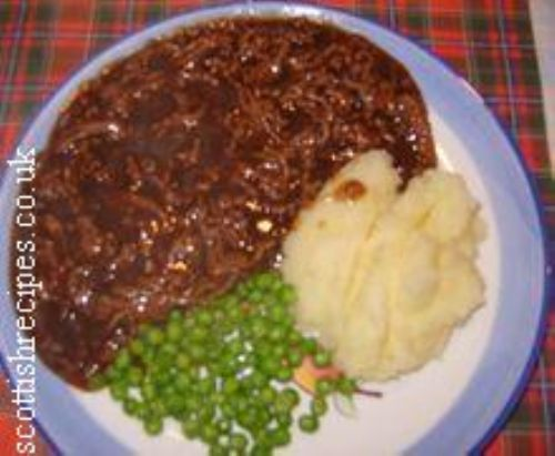 Amazing mince and tatties (the war is over love)