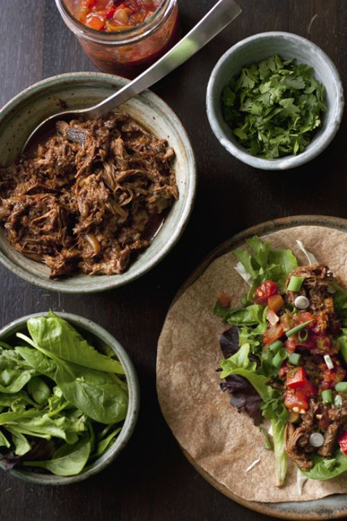 Ancho Braised Beef Tacos
