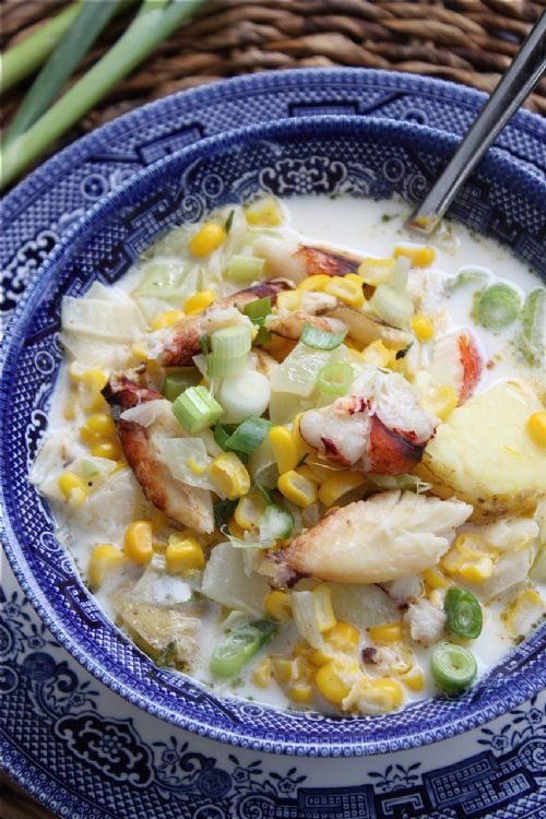 Corn and Crab Chowder