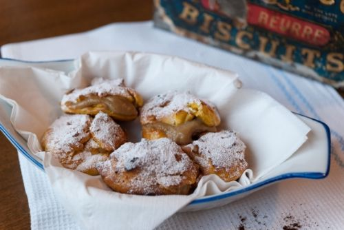 Choux Pastry with Coffee Cream