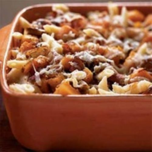 Roasted Butternut Squash & Bacon