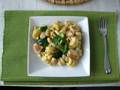 Chicken, Broccoli & Cheese Trottole