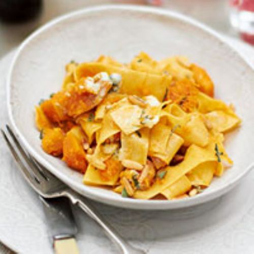 Pasta -Papparadelle Butternut Squash & Blue Cheese