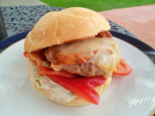 Wildtree Smoked Mozzarella-Herb Turkey Burgers