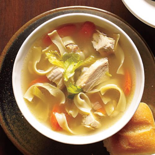 Fast Chicken Soup