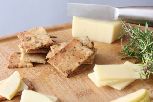 Savory sweet Crackers (almond flour)