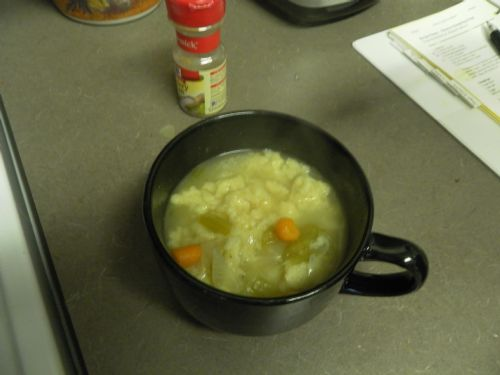 No Chicken Dumpling Soup