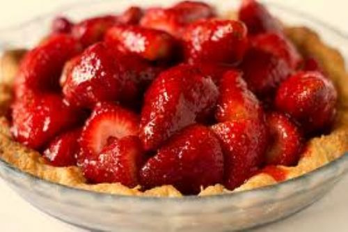 Fresh Strawberry Pie (No Sugar added)