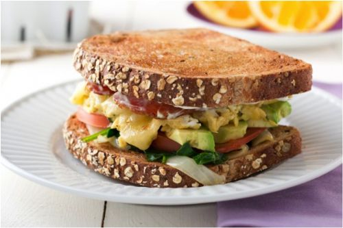 Eggtastic Breakfast Sandwich