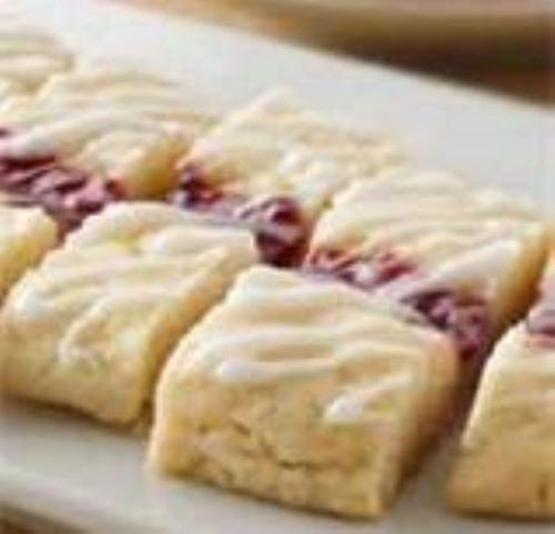 Raspberry Ribbon Cookies