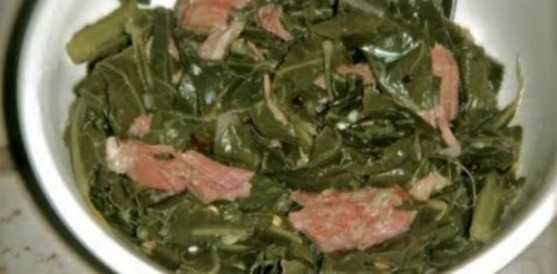 Collard Greens w/Smoked Turkey