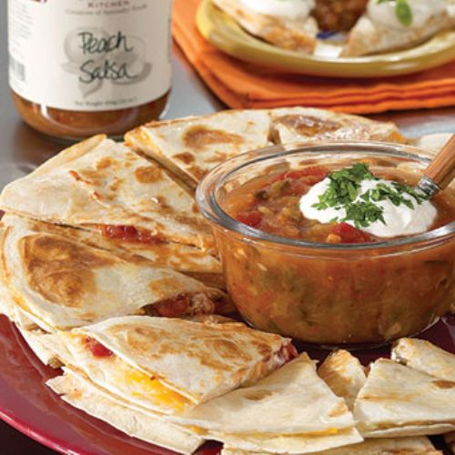Sweet and Spicy Quesadillas