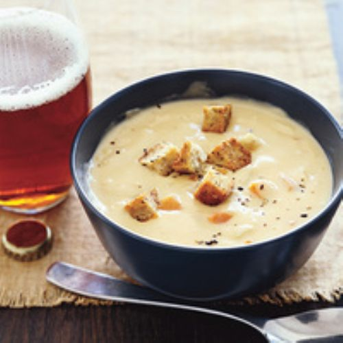 Beer and Cheese Soup