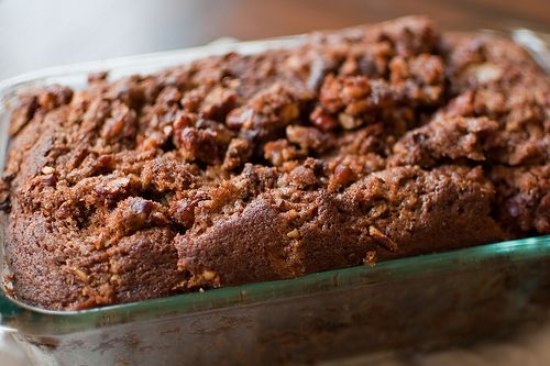 Autumn Pumpkin Bread with Streusel Topping