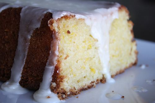 Lemon Summer Squash Cake