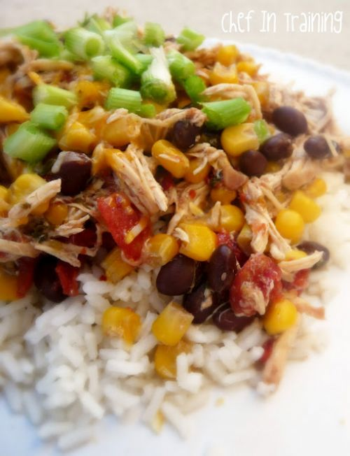Crock-Pot Santa-Fe Chicken
