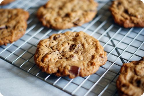 Cocoa-Oat-Peanut Butter Cookies