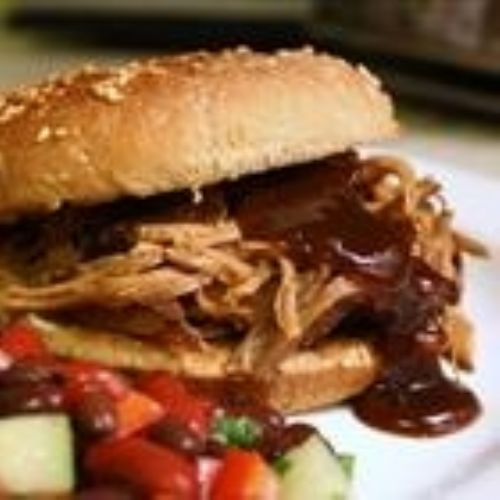 Clow Cooker Texas Pulled Pork