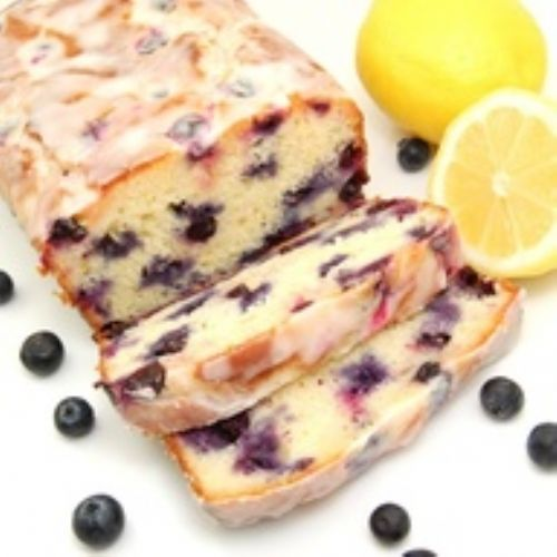 Lemon Blueberry Yogurt Loaf