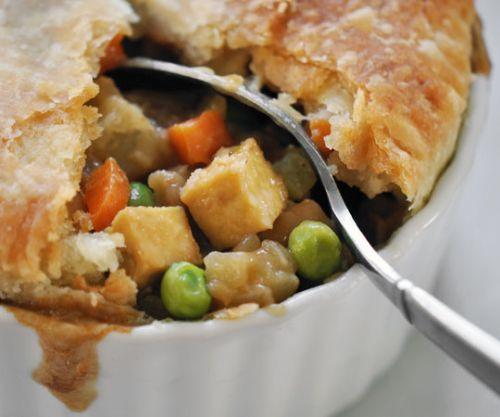 Vegan Tofu and Vegetable Pot Pie