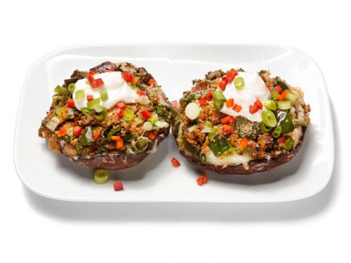 Mushrooms - Chile and Cheese Stuffed Mushrooms