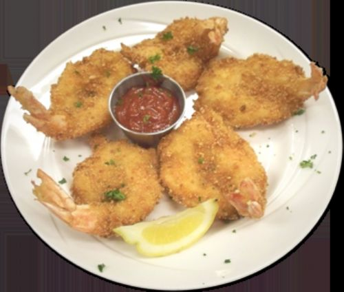 Panko fried shrimp