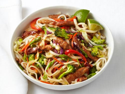 Asian - Pork and Noodle Stir-Fry