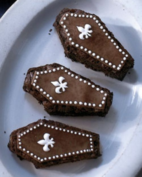 Halloween - Almond Brownie Coffins
