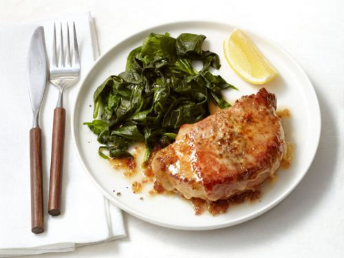 Pork - Pork Chops Saltimbocca