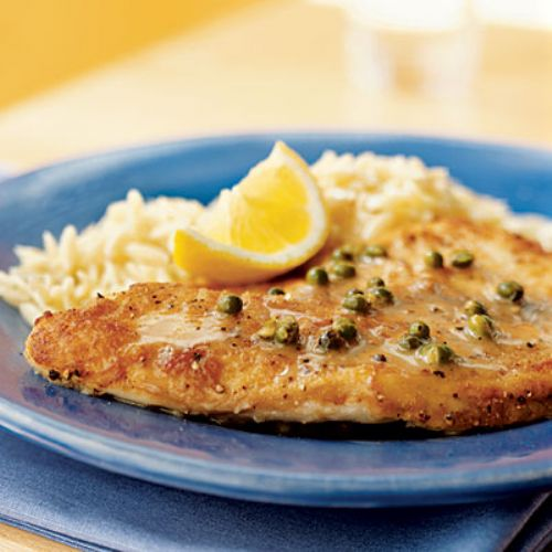Tilapia with Lemon-Peppercorn Sauce