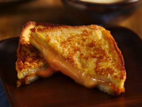 Inside Out Double Grilled Cheese