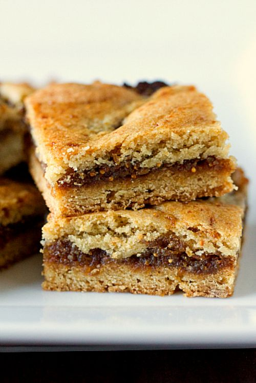 Fig Cookie Bars (Homemade Fig Newtons)