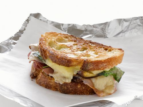 Grilled Cheese With Dates and Prosciutto