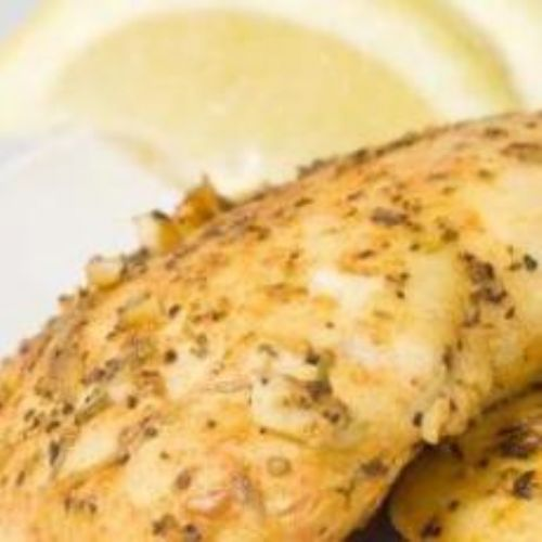 Crockpot Lemon apple beer chicken