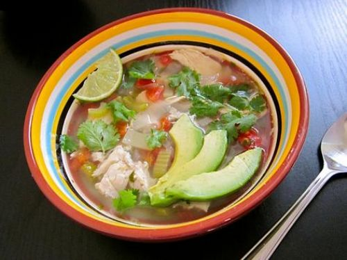 Mexican Hot Flower Soup (Caldo Xochitl)