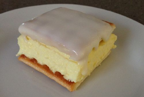 ten minute vanilla slice