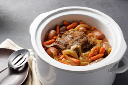 Slow Cooker Pot Roast w/ Gravy